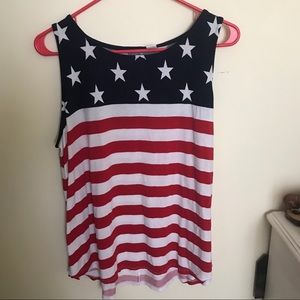 Old navy USA flag shirt